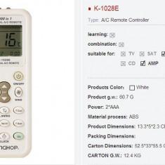 Telecomanda universala pentru aer conditionat 1000 in 1