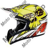 MBS Casca motocross Airoh Cr901 Tc14, galben/portocaliu, M=57-58, Cod Produs: CR1TC14MAU