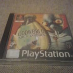 Oddworld: Abe's Exodus - PS1 - Citeste descirerea !, Actiune, Toate varstele, Multiplayer