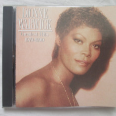 Dionne Warwick ‎– Greatest Hits 1979-1990 _ Cd, compilatie SUA - Muzica Pop arista