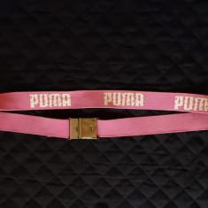 Curea Puma; 121 cm lungime totala; stare excelenta - Curea Barbati, Marime: 120cm, Culoare: Din imagine