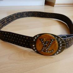 Curea Vintage A7; 126 cm lungime totala - Curea Barbati, Marime: 120cm, Culoare: Din imagine