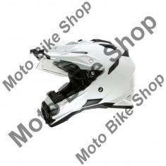 MBS Casca enduro Sierra Adventure, alb, M/57-58, Cod Produs: 0815003AU - Casca moto