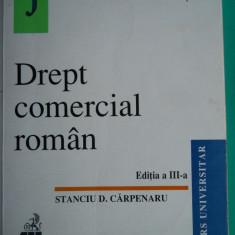 HOPCT DREPT COMERCIAL ROMAN /STANCIU D CARPENARU 2000 / 623 PAG - Carte Drept comercial
