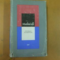 Machiavelli Istoriile florentine Cluj Napoca 1967