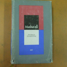 Machiavelli Istoriile florentine Cluj Napoca 1967 - Istorie