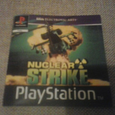 Manual - Nuclear Strike - Playstation PS1