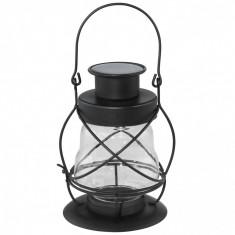 Lampa solar LED portabila tip felinar