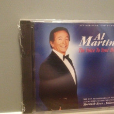 AL MARTINO - THE VOICE TO YOUR HEART(1993/BMG/GERMANY) - ORIGINAL/NOU/SIGILAT - Muzica Jazz ariola, CD