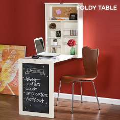 Birou Pliabil de Perete Foldee Table W