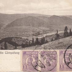 CAMPULUNG, SALUTARE DIN CAMPULUNG, CIRCULATA 1924 - Carte Postala Bucovina dupa 1918, Printata, Campulung Moldovenesc