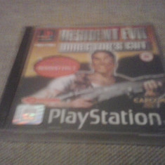 Resident Evil Director's Cut + Resident Evil 2 Demo - PS1, Actiune, Toate varstele, Single player