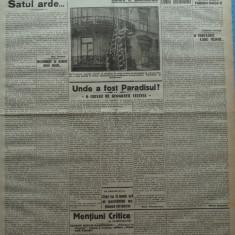 Cuvantul , ziar legionar , 30 Aprilie 1933 , art. Nae Ionescu , Mihail Sebastian