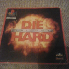 Manual - Die Hard Trilogy - Playstation PS1