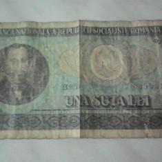 Lot bancnota 100 lei 1966 + moneda 100 lei 1992+ moneda 10 lei 1992 - Bancnota romaneasca