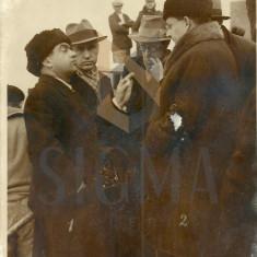 IOSIF BERMAN - FOTO ANCHETAREA NAUFRAGIULUI SANTONIA, INTEROGARE - Fotografie