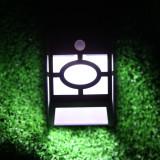 Lampa solara LED cu senzor de miscare 0.55W - Corp de iluminat, Lampi solare