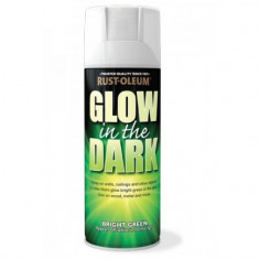 Spray glow in the dark luminescent