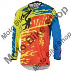 MBS Tricou motocross copii Alpinestars Braap, alabstru/rosu, KXL, Cod Produs: 3771416375XLAU