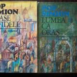 Pop Simion - Orase Infidele / Lumea ca oras - doua volume - Carte de calatorie