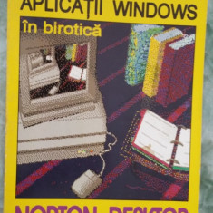 APLICATII WINDOWS IN BIROTICA NORTON DESKTOP -TURTUREA, BALINT - Carte software