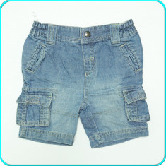 FRUMOSI _ Pantaloni scurti tip blugi, subtiri, C&A _ baieti | 18 - 24 luni | 92, Marime: Alta
