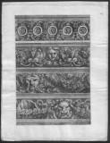 An 1660 Gravura originala - Arhitectura  , Jean de Pautre , baroc