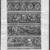 Gravura originala - Arhitectura, an aprox. 1660, Jean de Pautre, baroc