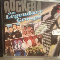 LEGENDARY GROUPS Anii '60 (1991/K-TEL ROCK/GERMANY) - CD /ORIGINAL/NOU/SIGILAT - Muzica Rock & Roll universal records