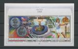 COOK ISLANDS 1988 JOCURILE OLIMPICE SEUL COTA MICHEL 20 EURO, Nestampilat