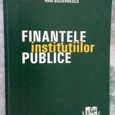 FINANTELE INSTITUTIILOR PUBLICE - NAMU, MITU, BUZIERNESCU - Carte despre fiscalitate