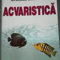 Acvaristica Buzenche carte despre acvarii si pesti tropicali