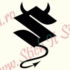 Suzuki Evil_Tuning Auto_Cod: CST-007_Dim: 15 cm. x 9.9 cm. - Stickere tuning