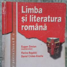 LIMBA SI LITERATURA ROMANA CLASA A XI A - CORINT - Manual scolar corint, Clasa 11