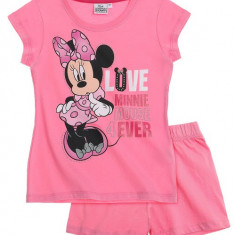 Pijama de vara Disney Minnie roz