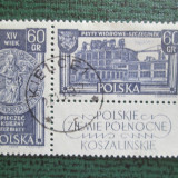TIMBRE POLONIA STAMPILAT-