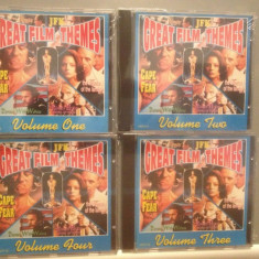 GREAT FILM THEMES - vol 1, 2, 3, 4 - (1992/TRING REC/UK) - CD/ORIGINAL/NOU/SIGILAT - Muzica soundtrack