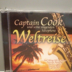 CAPTAIN COOK - WELTREISE - SAXOPHONE(2005/SONY/GERMANY) -CD/ORIGINAL/NOU/SIGILAT - Muzica Clasica sony music