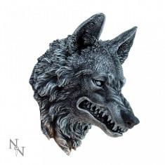 Plachetă decorativă perete Cap de lup