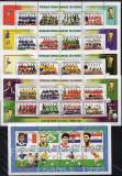 COMORES 1998 FOTBAL CUPA MONDIALA ( INCLUSIV ECHIPA ROMANIEI), Nestampilat