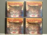 MUSICAL WORLD HITS - vol 1,2,3,4 - FROM FILMS (1994/UK) - ORIGINAL/NOU/SIGILAT, CD