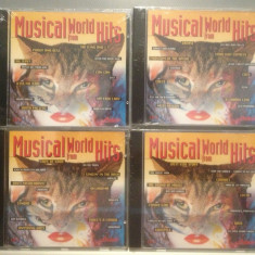 MUSICAL WORLD HITS - vol 1, 2, 3, 4 - FROM FILMS (1994/UK) - ORIGINAL/NOU/SIGILAT - Muzica soundtrack, CD