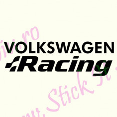 Volkswagen Racing_Tuning Auto_Cod: CST-015_Dim: 15 cm. x 4.6 cm. - Stickere tuning