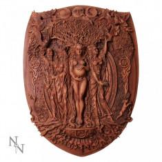 Plachetă decorativă perete Cele trei zeițe