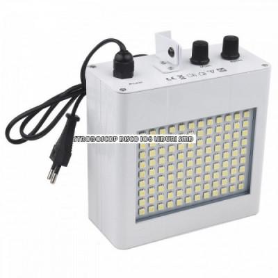 Stroboscop disco 108 LED-uri SMD foto