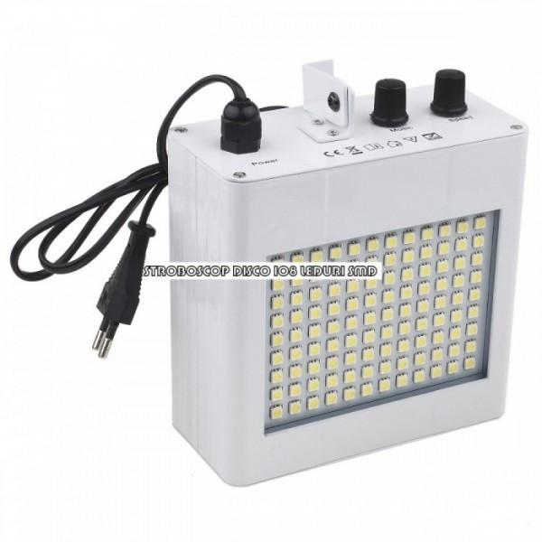 Stroboscop disco 108 LED-uri SMD