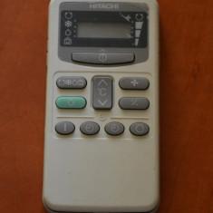 Telecomanda aer conditionat HITACHI ORIGINALA, IMPECABILA ( AC ),
