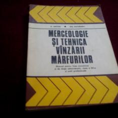 MANUAL MERCEOLOGIE SI TEHNICA VANZARII MARFURILOR CLASA XII 1978