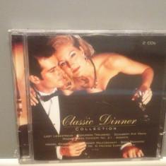 CLASSIC DINNER - COLLECTION 2CD SET(1996/SONY/GERMANY) - ORIGINAL/NOU/SIGILAT - Muzica Clasica sony music