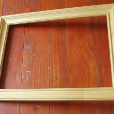 Rama din lemn model deosebit pentru fotografii oglinda sau tablou !!! - Rama Tablou, Decupaj: Dreptunghiular